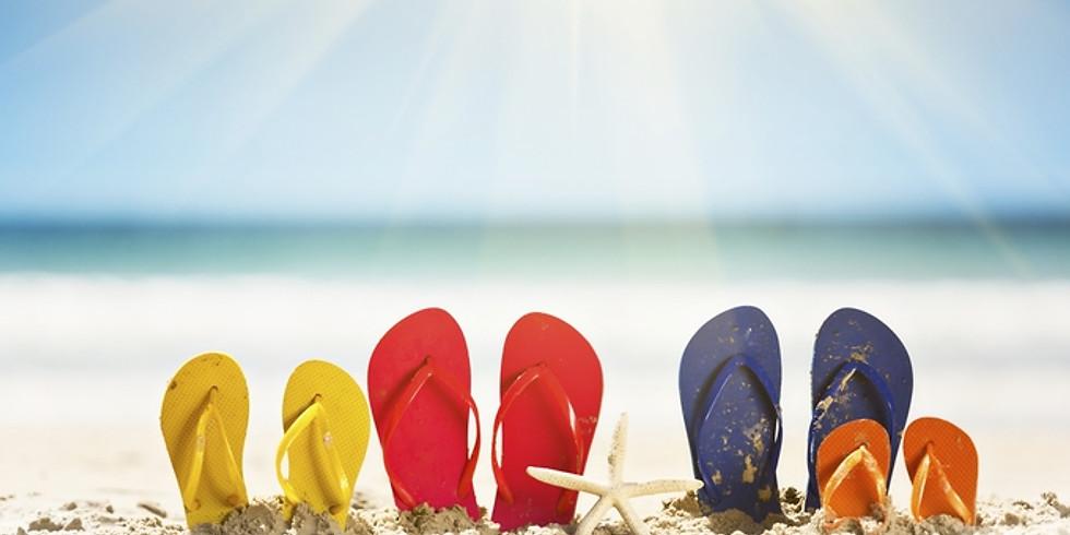 Début des vacances d'été !