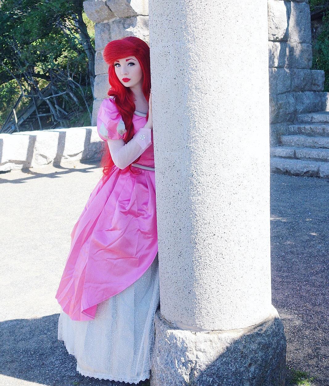 royal-princess-prep  The Little Mermaid (Pink Dress)