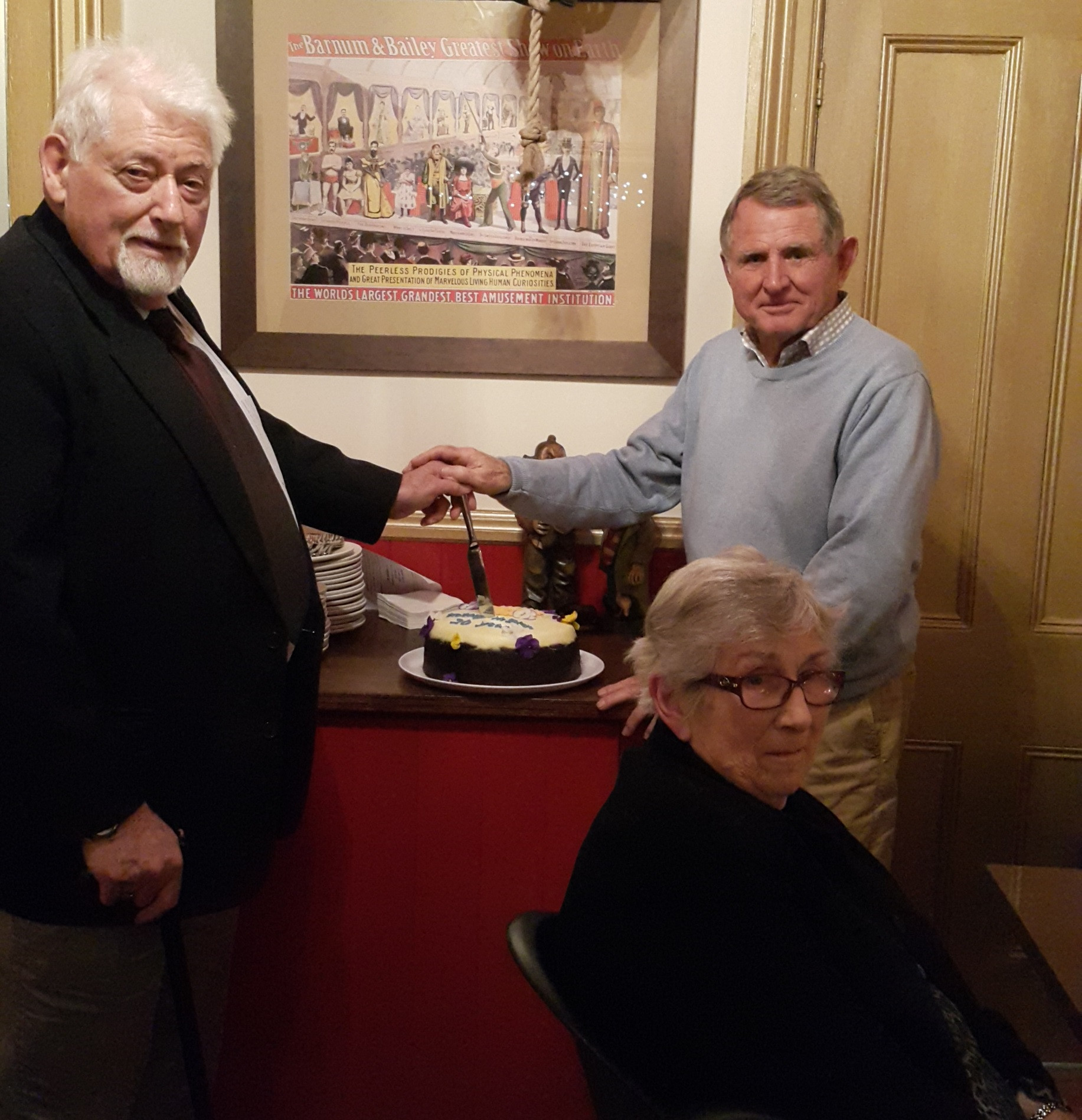 Many thanks to three wonderful contributors over the years, all three of whom have served as club president - Lloyd Thorburn (Charter Member), Ruth Hunt and Ian Denning (Charter President).
