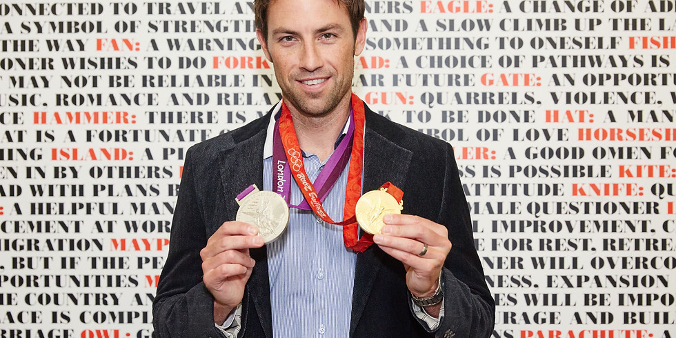 Wednesday 26th May, 8.30am: Sprints with Olympic champion Mark Hunter