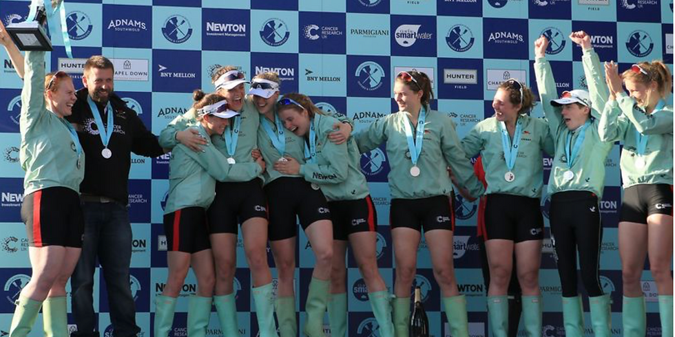 Row it again - the 2017 Women's Boat Race, coxed