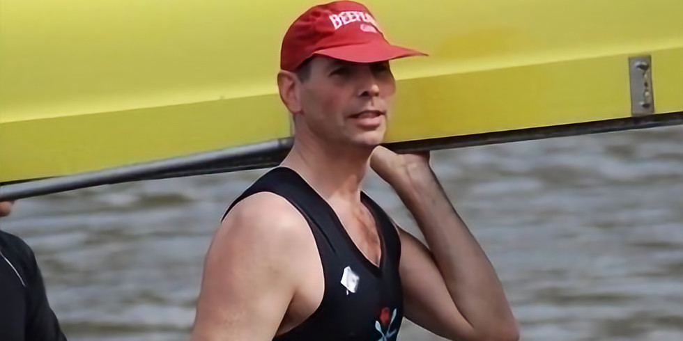 Friday 4th June , 7am with triple Boat Race winner Richard Phelps