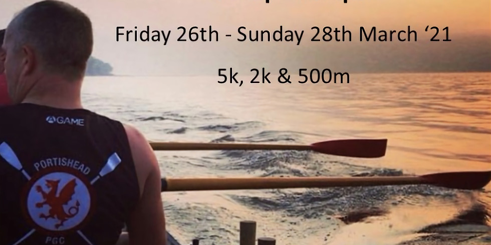 Sunday 28th March, 2pm UK time - 500m with Portishead Pilot Gig Club