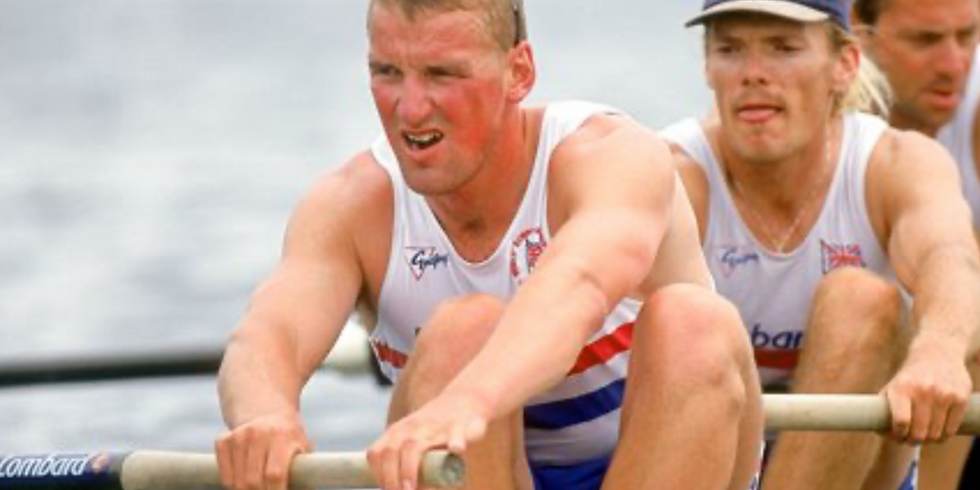 Thursday 20th May, 7.45am with Sir Matthew Pinsent