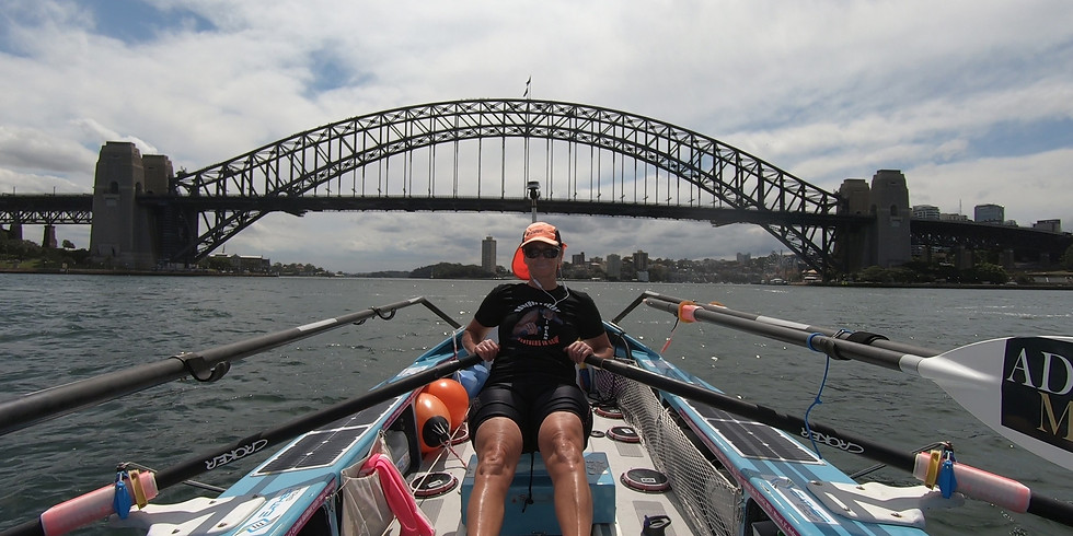 Friday 22nd January, 6.15am GMT, 1715 Sydney with world record holder Michelle Lee