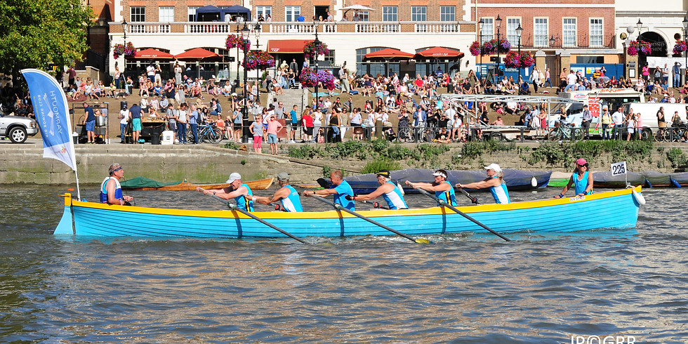 Sunday 21st February, 6pm - row the Itchen Head with a Gig rower