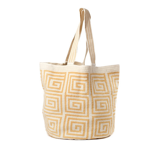 Beach Bag - Sand + White Collection 1