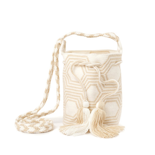 Mini Mochila - Sand + White Collection 1