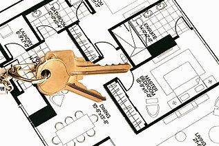Keys on a floorplan concepts of real est