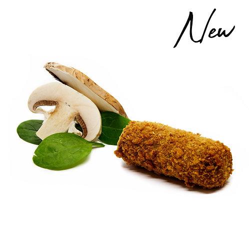 Vegan Portobello & Spinach Croquette
