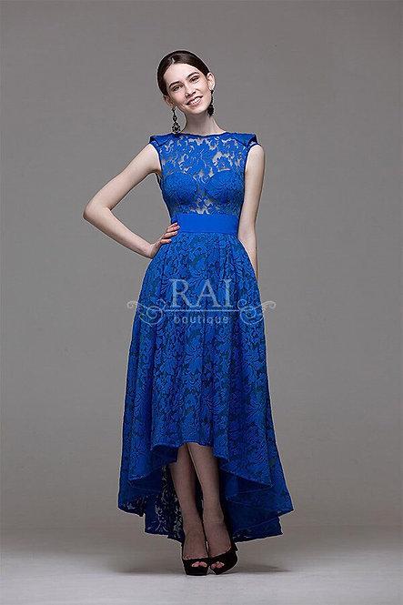 Синее коктейльное платье Boutique RAI