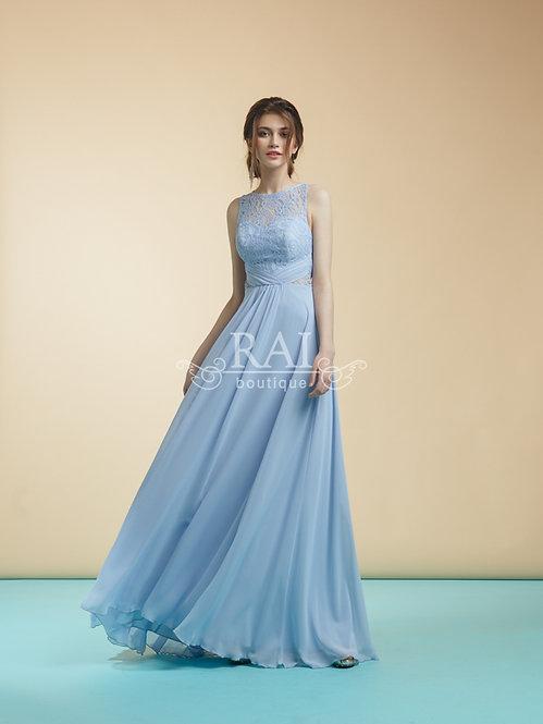 Голубое вечернее платье Boutique RAI