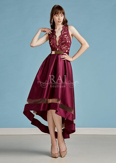 Фиолетовое коктейльное платье Boutique RAI