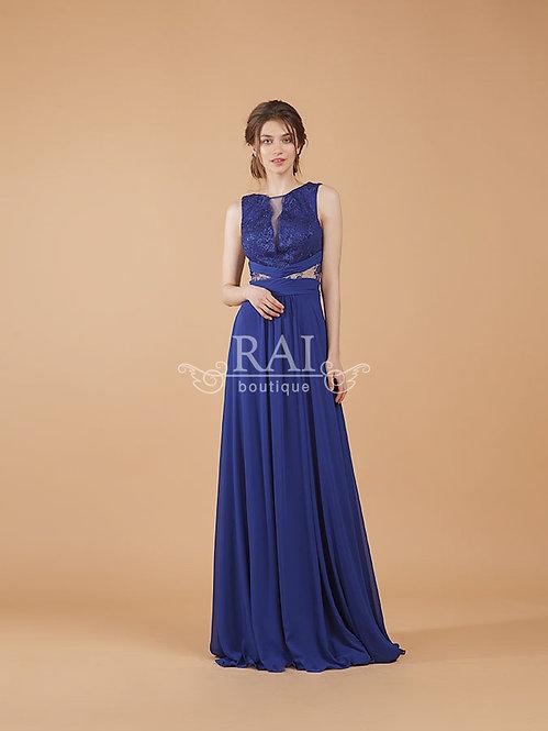 Синее вечернее платье Boutique RAI