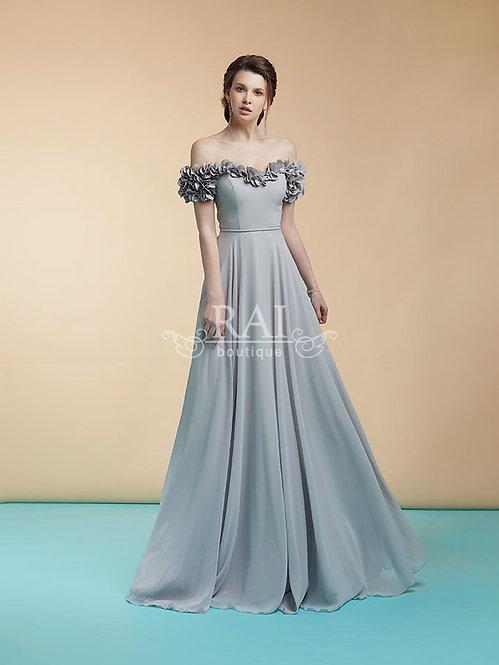 Серое вечернее платье Boutique RAI