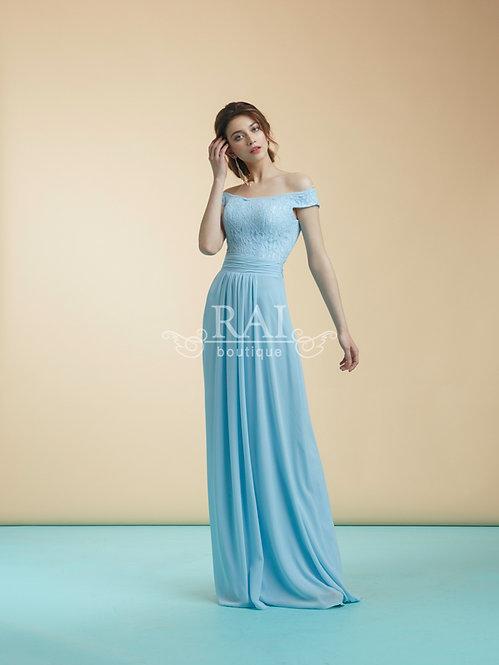 Голубое свадебное платье Boutique RAI Нижний Новгород