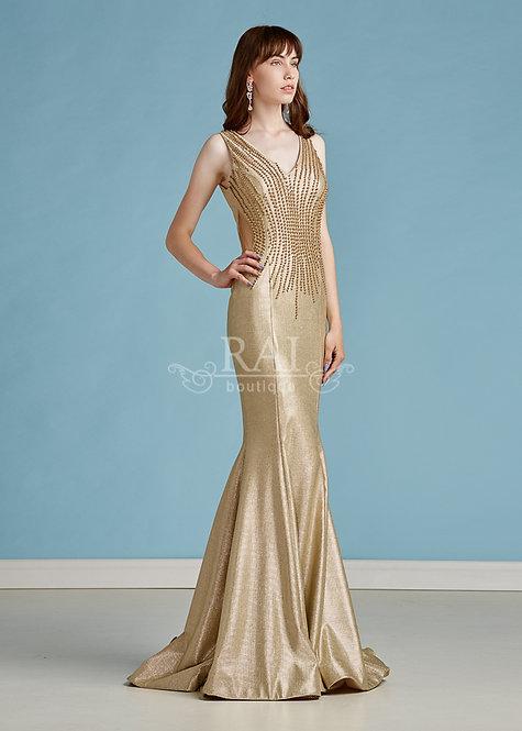 Золотое женское платье Boutique RAI