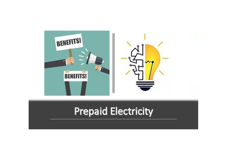 Benefits of prepaid electricity