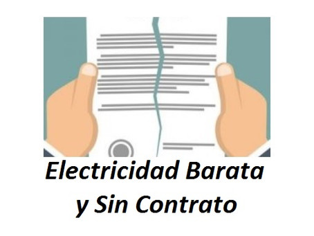 Electricidad Barata y Sin Contrato