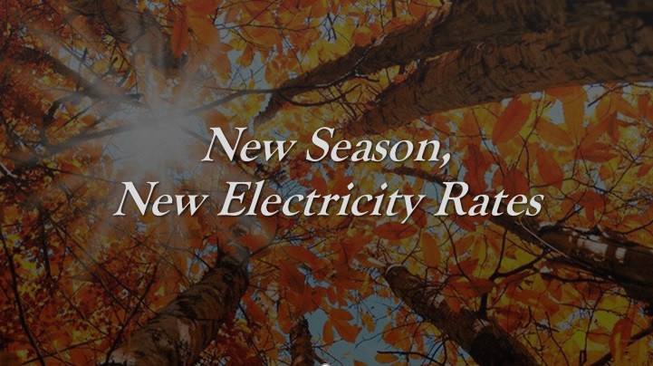New Season, New Electricity Rates