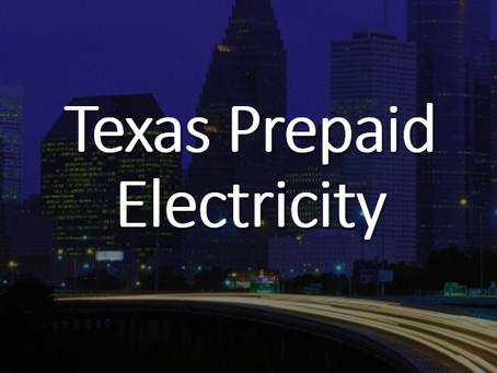 Prepaid Energy in Texas
