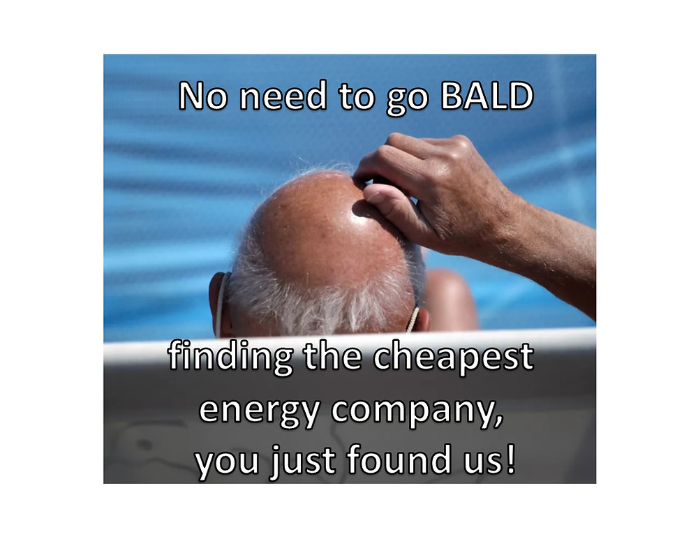 Cheapest Electricity Company – Don't go bald finding it.