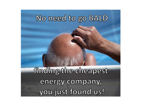 Cheapest Electricity Company – Don't go bald finding it