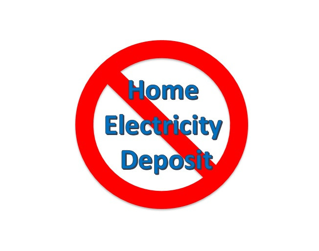 No Deposit Home Electricity