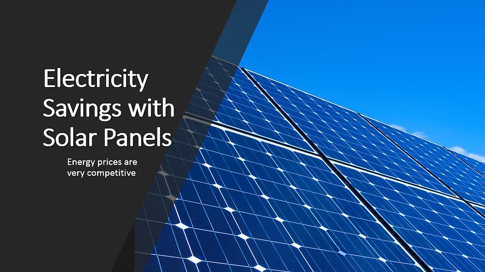 Energy Savings with Solar Panels
