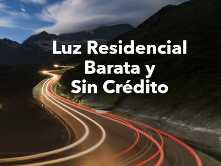 Luz Residencial Barata Y Sin Credito