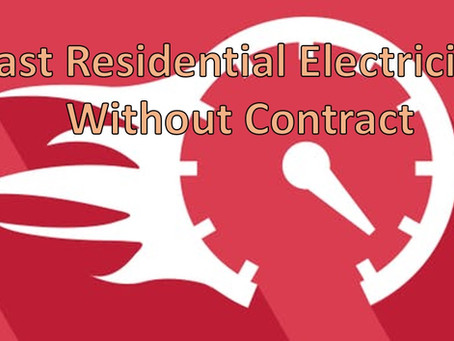 Fast Residential Electricity Without Contract