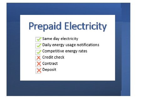 Prepaid Electricity Rates