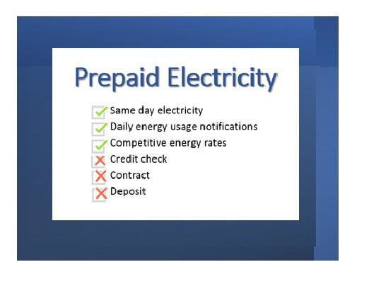 Prepaid Electricity Advantages