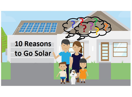 Solar energy for your home.