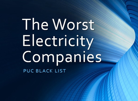 Electricity Companies Texas, The Black List