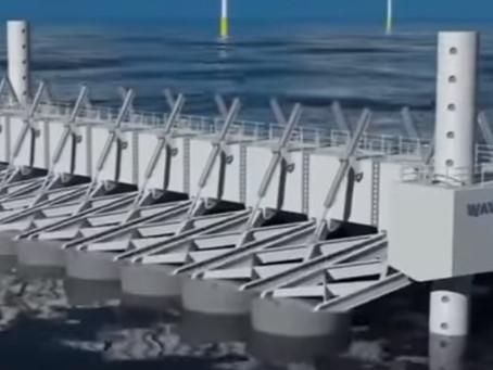 Generación Energía Olas Oceánicas