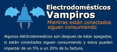 Electrodomésticos Vampiro
