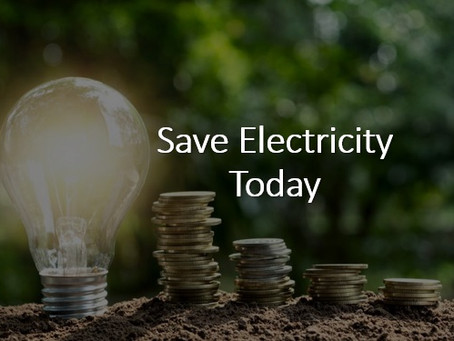 Save Electricity Today