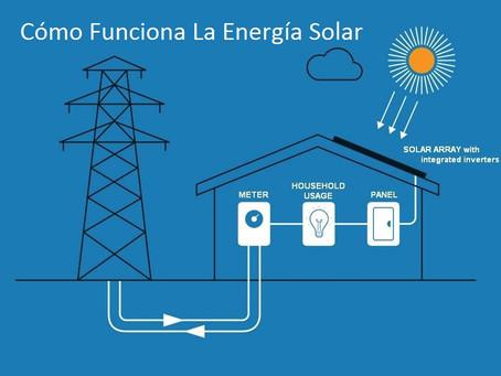 Los paneles solares, ¿cómo funcionan?