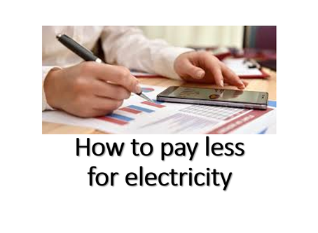 How to pay less electricity