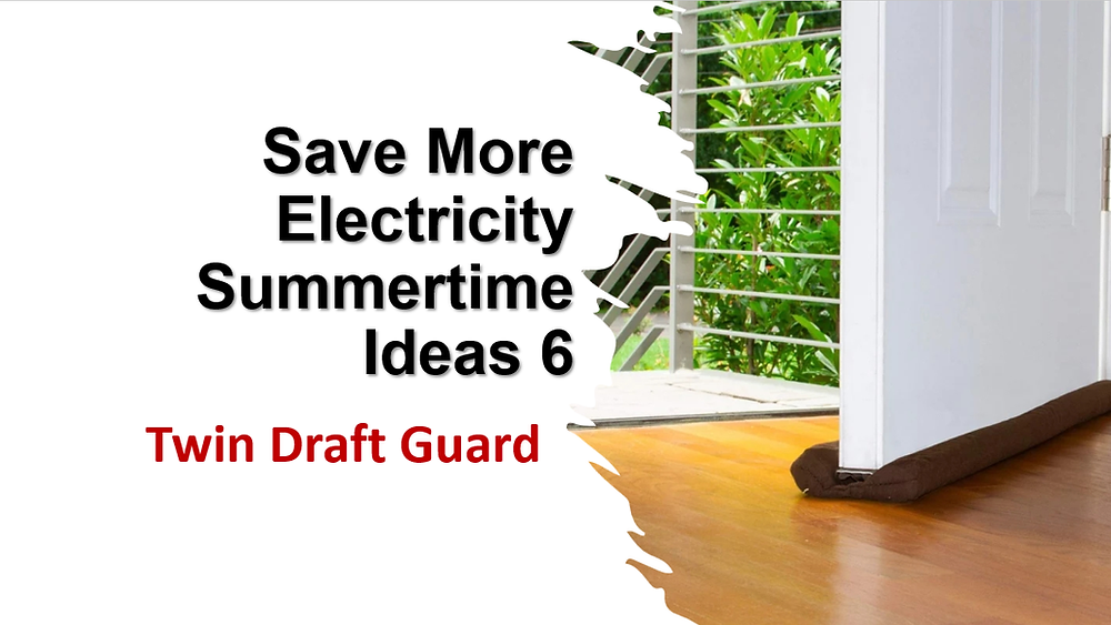 Save Electricity this Summer