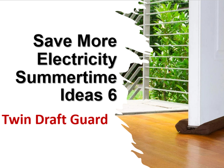 Save Electricity Texas Summertime 6