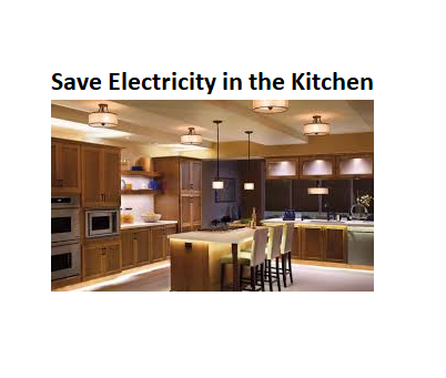 Payless for electricity in the kitchen