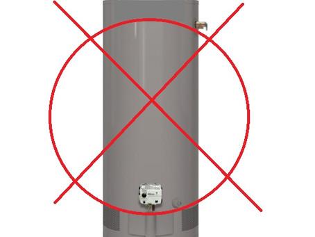 Ahorre energía con un calentador de agua sin tanque.