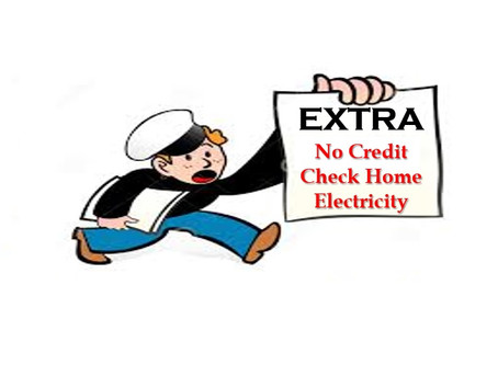 Home electricity without a credit check