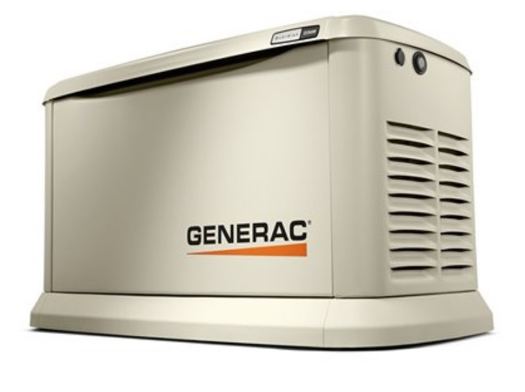 Image of a backup power generator