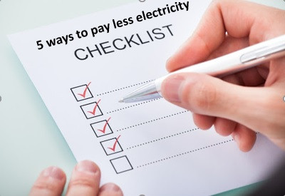 5 Ways to Lower Your Electricity Bill