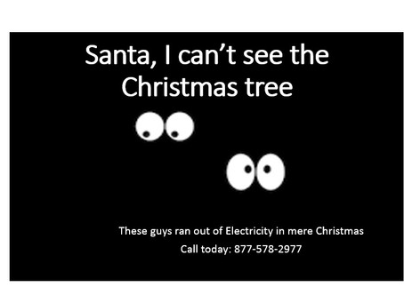 Residential Electricity in Christmas