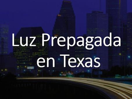 Luz Prepagada en Texas
