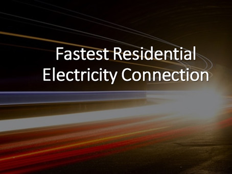 Residential Electricity Quick Connection